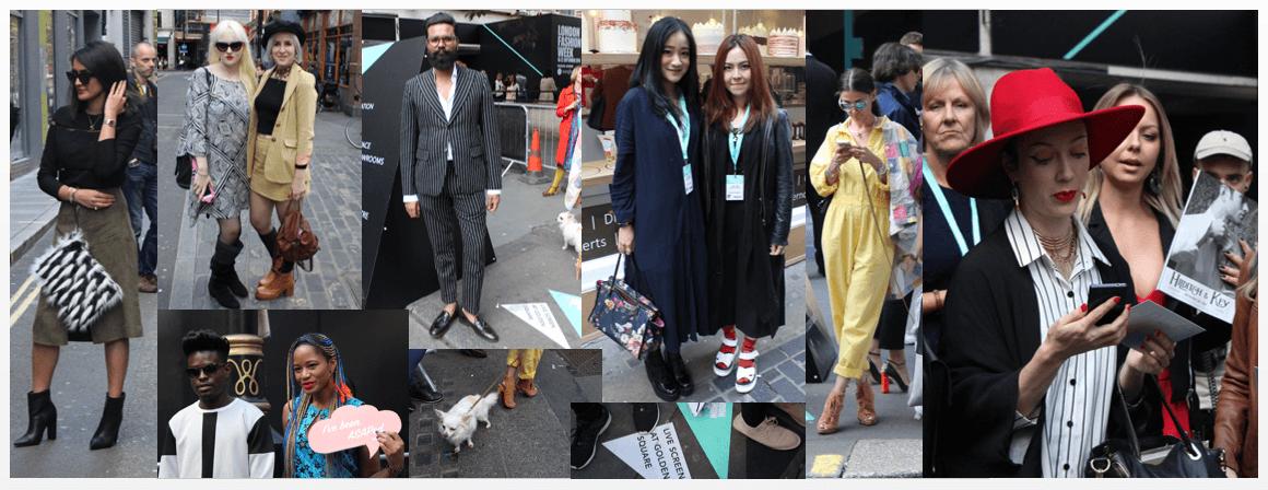 London Fashion Week Brewer Street